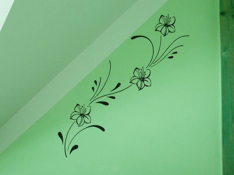 Malovani na zed loznice10