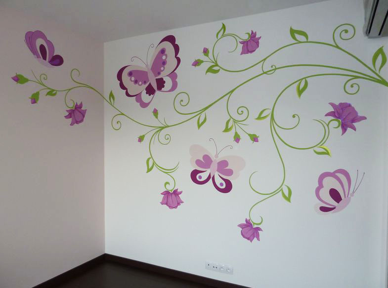 Malovani na zed pokojicky48